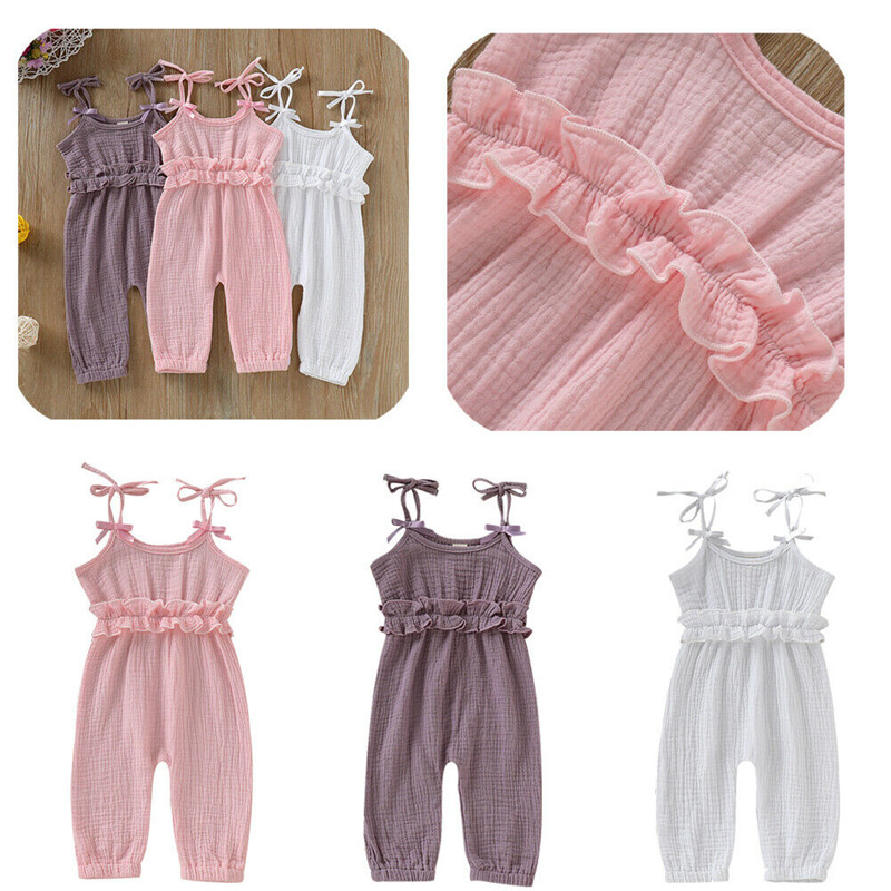 14eacc44b146c 2019 Baby Summer Clothing 0 24M Toddler Baby Girl Romper Clothes ...