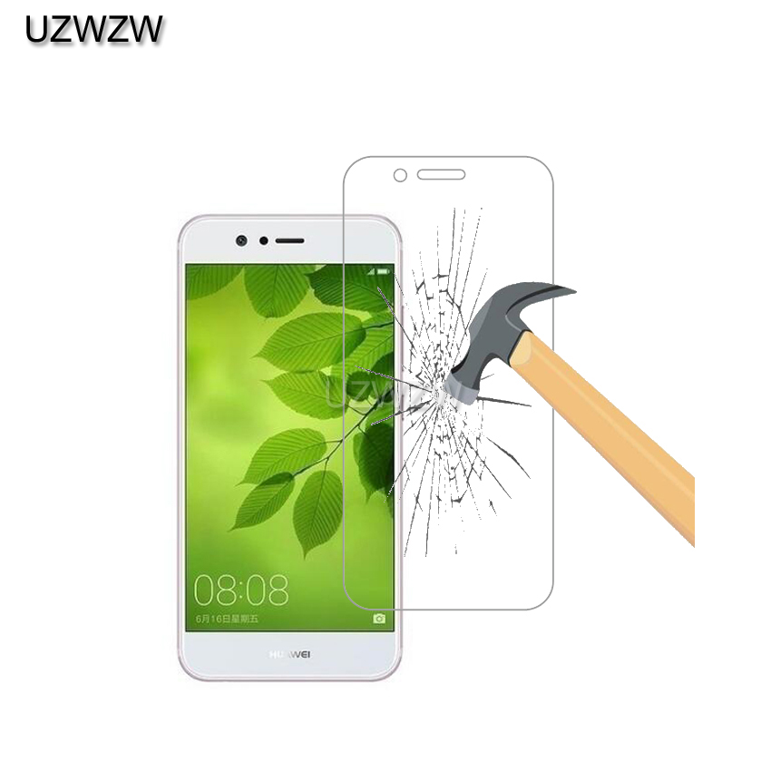 2pcs 0.26mm 9H  Premium Tempered Glass For Huawei Nova 2 Nova2 Screen Protector Protective Film Glass For Nova 2 Glass