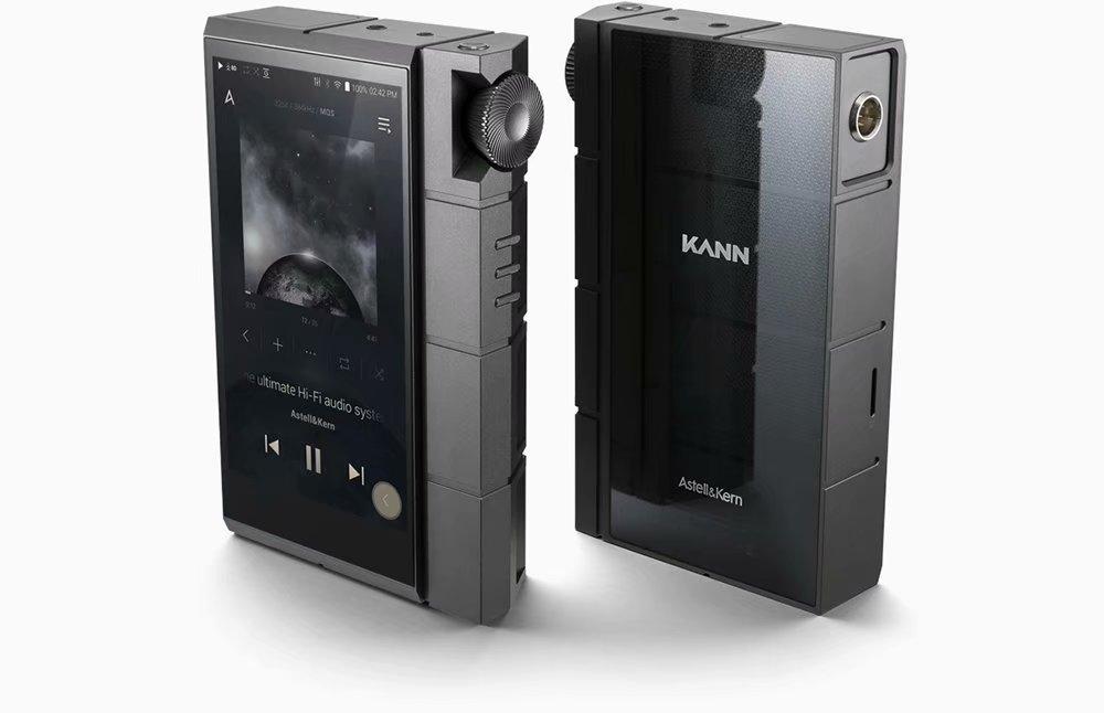 Astell Kern Kann Cube HiFi 128GB Portable High Resolution Wifi Balance Dual DAC Type-C Aptx 9 Hours Playback Time Audio Music MP3 Player Gray