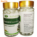 3 Botellas de Resveratrol Cápsula 500 mg x 270 unids para Máximo Apoyo Anti-Envejecimiento, estimular el Sistema Inmunológico y la Salud Del Corazón