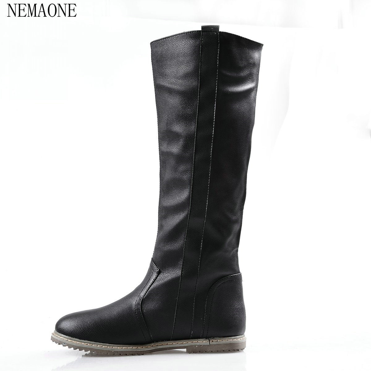 NEMAONE New arrival Russia keep warm snow boots fashion platform fur over the knee boots warm winter boots for women shoes