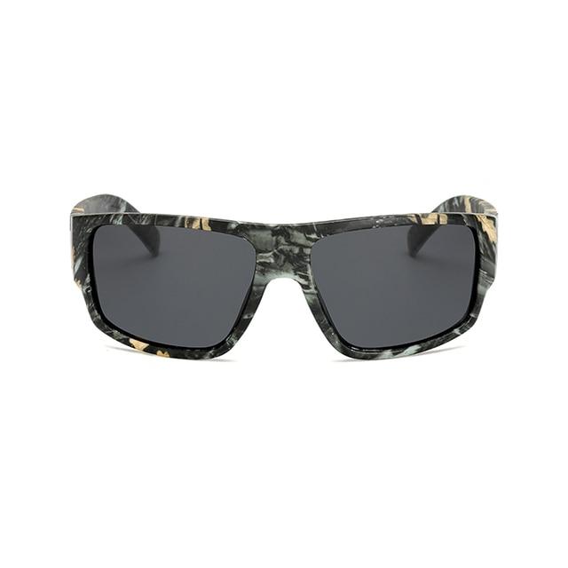 Samjune Polarizada Óculos De Sol Polaroid homens Óculos de Sol Do Esporte  camuflagem Marca Designer retro e079fba318