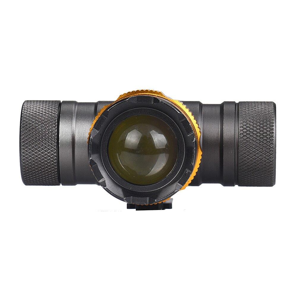 XM-L T6 LED Headlight Zoomable Flashlight Head Lamp Light 18650 Battery T