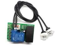 Relay switch output Liquid level sensor liquid level detection module Dual level alarm switch Infrared optical Level detectors