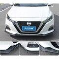 Для Nissan Altima защита выхлопного отверстия переднего бампера для 2019 новый TEANA Teana набор бампер задняя Лопата задний спойлер Спорт