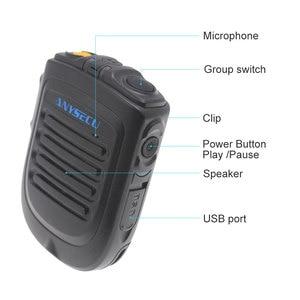 Image 3 - Anysec  micrófono inalámbrico para F22 4G W2PLUS T320 3G/4G, dispositivo de Radio REALPTT ZELLO, compatible con micrófono de mano inalámbrico, versión 4,2