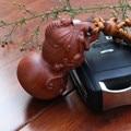 1 unid 3D De Alta calidad de Joyería Grabado Llavero Bolsa Colgante Encanto Llavero calabaza Coche llavero llaveros