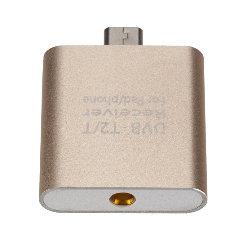 2018 nouveau HD TV numérique DOGNLE micro USB DVB-T DVB-T2 TV récepteur TV bâton avec antenne pour téléphones et tablettes Android