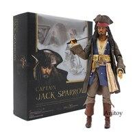 Shfiguarts قراصنة الكاريبي الكابتن جاك سبارو pvc عمل الشكل النادرة نموذج لعبة 15 سنتيمتر