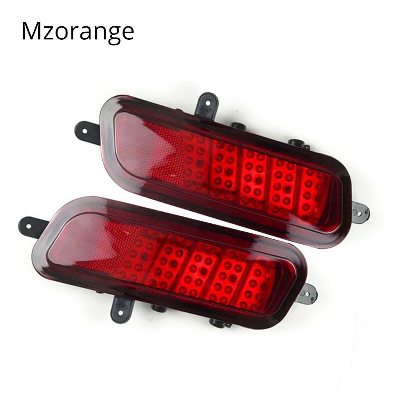 MIZIAUTO Fog Lamps Tail light Bumper Led Lamp reflector Assembly for Great Wall Hover HAVAL CUV H3 Light