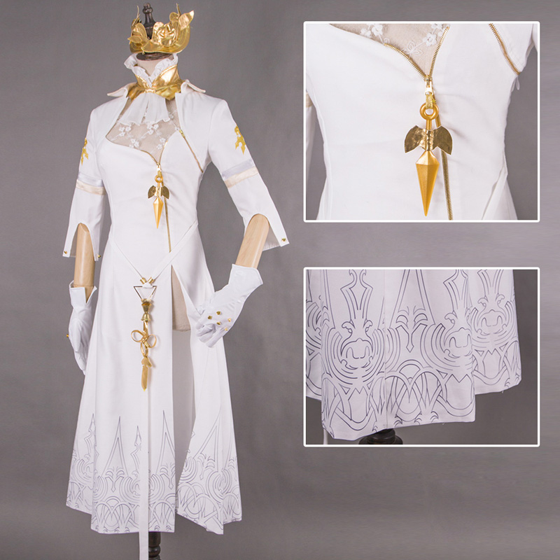 NieR Automata YoRHa Commander Cheongsam Uniforms Cosplay Costume Autumn and Winter Style Game NieR Cosplay