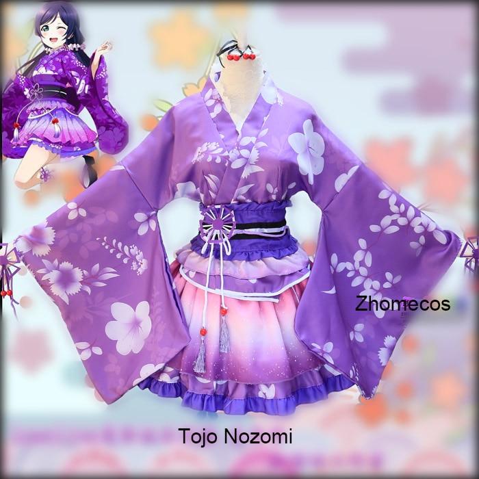 Anime Lovelive Cosplay Love Live Kimono Yazawa Nico Costumes Cosplay For Woman Girl Sonoda Umi Nishikino Maki Honoka Honoka Eli
