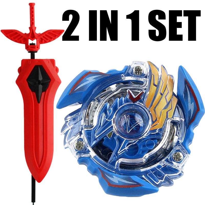Victory Valkyrie / Valtryek Burst Spinning Top Starter Set w/ Launcher B-34 Toy Kids With Sword Launcher(China)