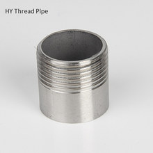 "1/4"" to 2"" Stainless Steel Tube SS304 Spool Pipe Straight Single Thread Pipe Fitting Homebrew(China)"