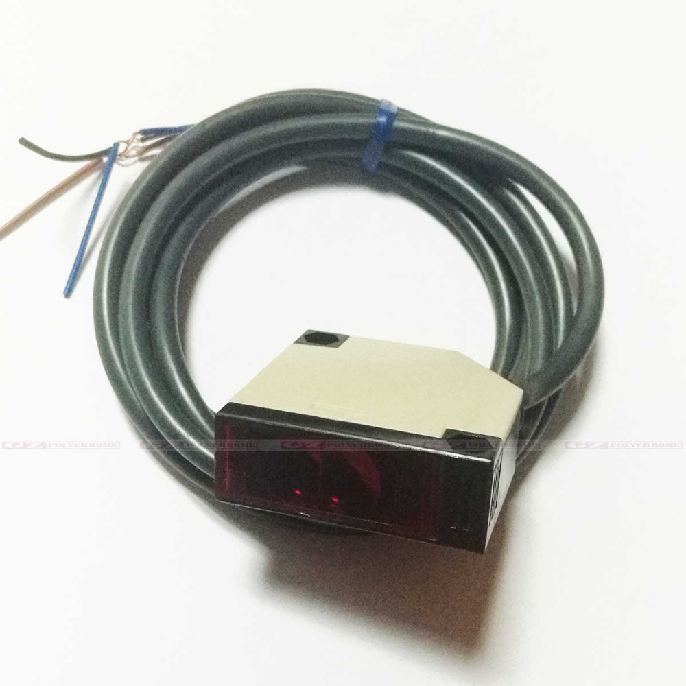 все цены на Rectangular Optical Sensor Switch Material Sensor for Wit-color JHF My-jet Liyu Allwin Human Flora Printer Fabric Media Sensor онлайн
