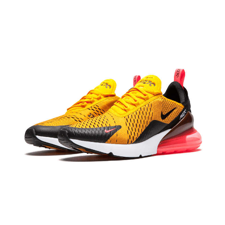 817f8c0364663 ... Nike Air Max 270 180 Running Shoes Sport Outdoor Sneakers Yellow Black  Red Comfortable Breathable Cushioning ...