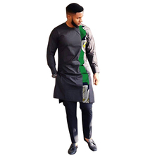 ATCice Core AFRICAN DRESSES FOR BAZIN RICHE EMBROIDERY DESIGN DRESS MEN SUIT TOP
