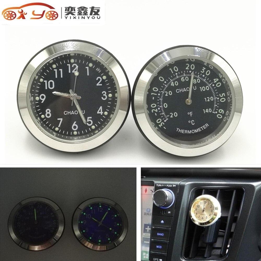 Us 693 Termometr Samochodowy Zegar Czasu Z świecącego Funkcji Pojazdu Auto Elektryczne Zegarek Samochodowy Anti Wysoki Niski Tempera Czarny W