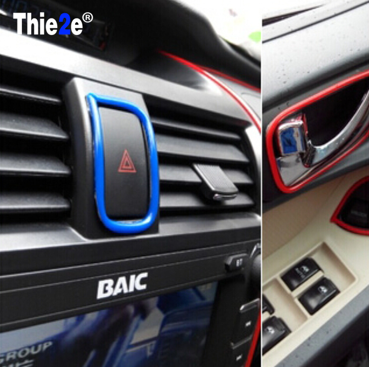 Hot 2016 New Modified Interior Accessories For Vw Polo Ford Kuga Chevrolet Cruze Nissan Qashqai