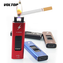 Mini Arc Cigarette Lighter Car Accesories USB Charger Windproof Portable Adapter Electronic Gadgets
