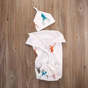 Newborn Baby Boys Girls Stretch Wrap Swaddle Blanket Bath Towel