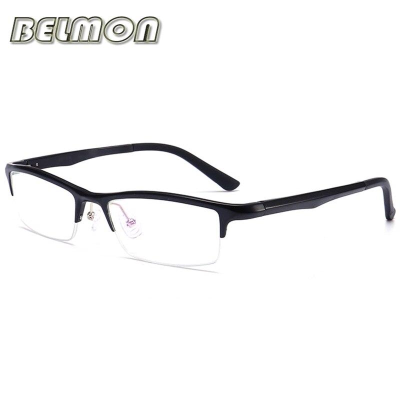 Beliebte Marke Brillen Al-mg Brillengestell Männer Nerd Computer Optische Klare Linse Gläser Rahmen Für Männliche Transparent Armacao De Rs130 Herren-brillen Bekleidung Zubehör