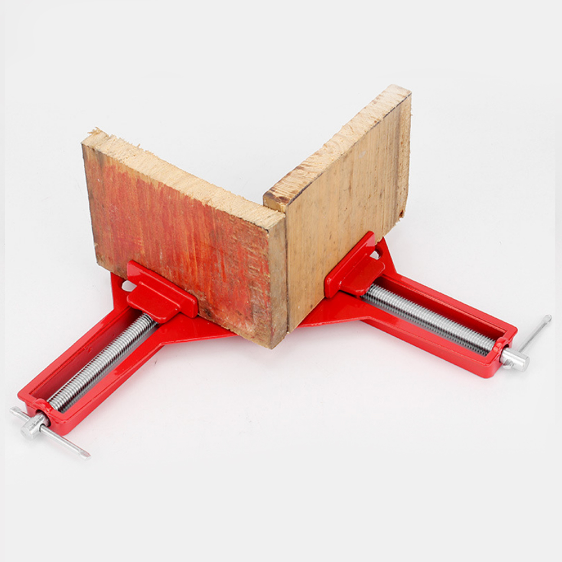 90 Degree Right Angle Clamp 100MM Mitre Clamps Corner Clamp Picture Holder Woodwork 4Inch Right Angle Clamp Woodworking Tool цена