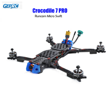 GEPRC Coccodrillo 7 Pro A Lungo Raggio FPV Drone 315 millimetri Telaio 2306 1600kv motori DALProp T7056C Puntelli Runcam Micro Swift FPV Camera