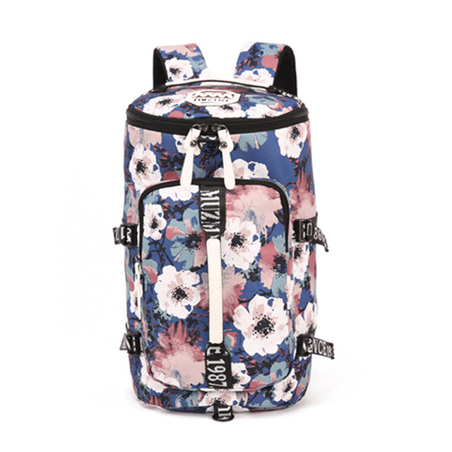 Multifunction Canvas Sport Bag Training Gym Waterproof Sports Backpack For Women Fitness Yoga