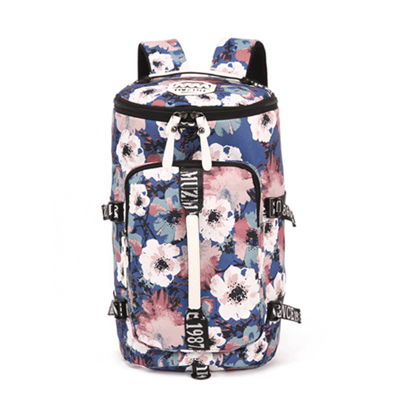 Palm Tree Duffel Convertible Backpack Training Gym Bag Waterproof Sports Gym Bag  For Women  Fitness Yoga Travel Luggage Bags