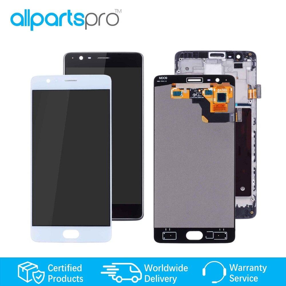 ALLPARTS Affichage LCD Pour OnePlus 3 lcd numériseur à écran tactile Pour Oneplus 3 Affichage LCD pièces de rechange a3000 a3003