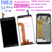 STARDE 5''  LCD for Asus ZenFone Go ZB500KL X00AD LCD Display Touch Screen Digitizer Assembly with Frame  and Free Toos цена