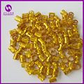 ( 100pcs/bag) Gold metal tube ring dreadlock beads for braids hair beads for dreadlocks adjustable hair braid cuff clips