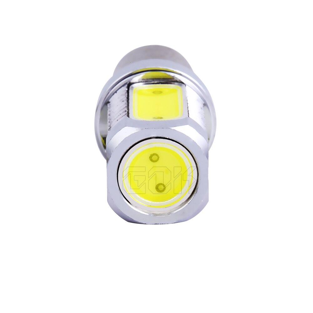 10 шт. супер яркий белый свет ba15s 1156 7,5 Вт светодиодный SMD 1156 светодиодный свет Ba15s светодиодный S25 P21W обратный свет лампы