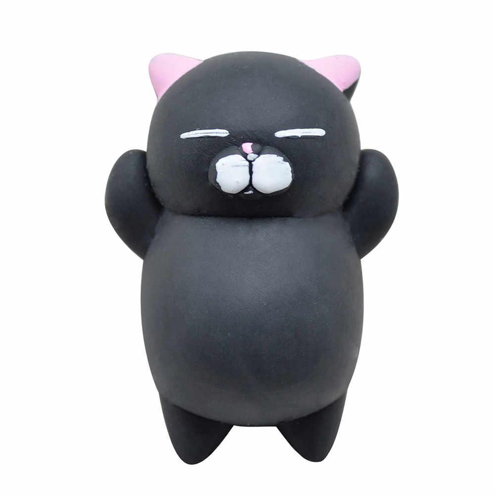 لعبة أطفال 2018 ارتفاع بطيء ضغط لطيف موتشي اسفنجي القط ضغط الشفاء متعة الاطفال Kawaii لعبة الإجهاد المخلص