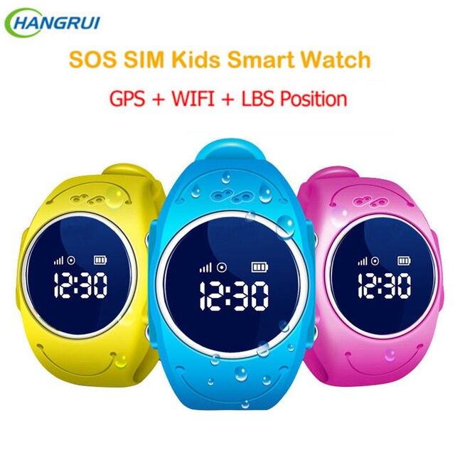 Новый 520 S GPS трекер Smart Детские часы с Wi-Fi Поддержка микро сим-карты SOS вызова расположение устройства трекер для Android и IOS Телефон