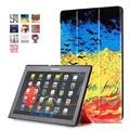 Для Lenovo Tab 2 A10-70F/L Tablet Cover 10.1 дюймов Окрашенные Стенд Флип Для Lenovo A10-30 X30F tab3 10 Tablet case + OTG + ручка