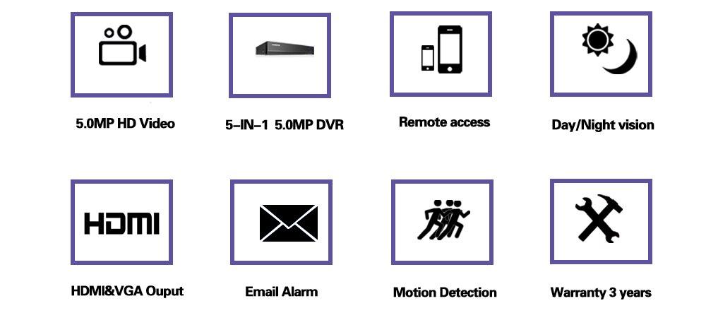 AHD DVR 4 Channel H 265+ 5mp-n 4mp-n Hybrid Video Recorder CCTV AHD CVI TVI  Analog IP 5MP CCTV Came Security xmeye onvif view