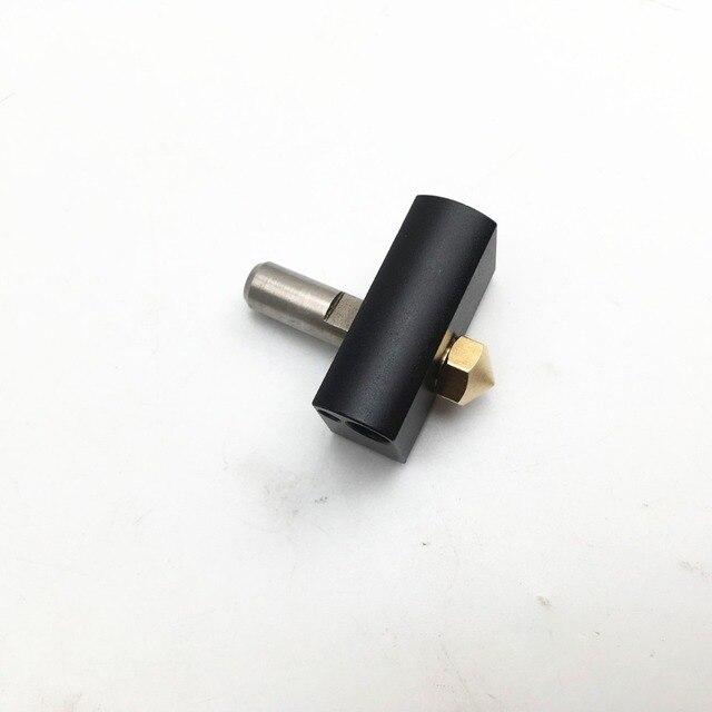 1,75mm D6 MK11 salida Hotend Kit para Wanhao Duplicator6 3D impresora PTFE lineal de barrera térmica tubo boquilla de 0,4mm de bloque de