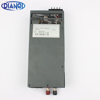 Mean Well Power Suply 24v 1200w Ac To Dc Power Supply Ac Dc Converter High Quality