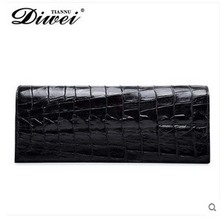 diwei 2017 new hot men women crocodile leather long wallet more screens large capacity bag business casual fashion day clutches