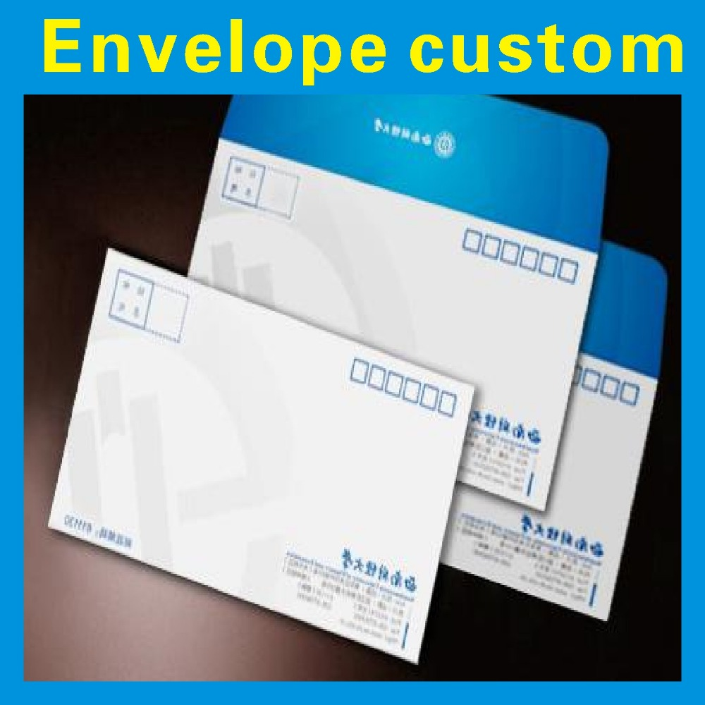 Paper Envelope Custom Printing /4 Color Printing