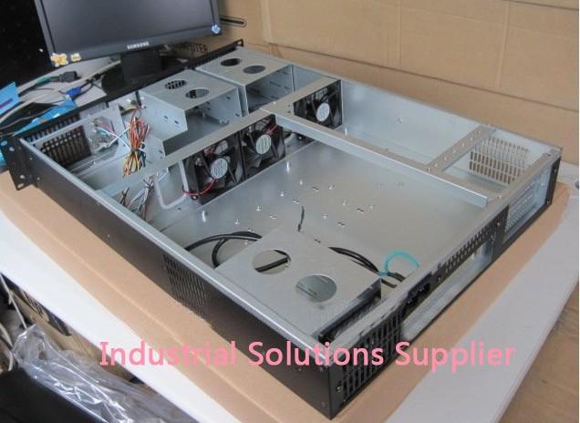 NEW Top 2U630 server computer case industrial computer case pc 2u standard