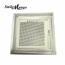 Directly Heat BGA Rework Reballing 10pcs Universal Stencil Template IC Sik Tin
