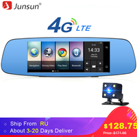 Junsun A800 4G 3G Car DVR Mirror 7 Android 5 1 GPS Dash Cam Video Recorder