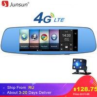 Junsun A800 4G 3G Car DVR Mirror 7 Android 5 1 GPS Dash Cam Video Recorder