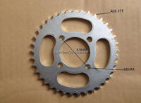 motocross scooter motocicleta sprocket tandwiel 37 tooth 52MM FOR 428 chain motorcycle moto dirt pit bike parts CRF TTR KTM KLX