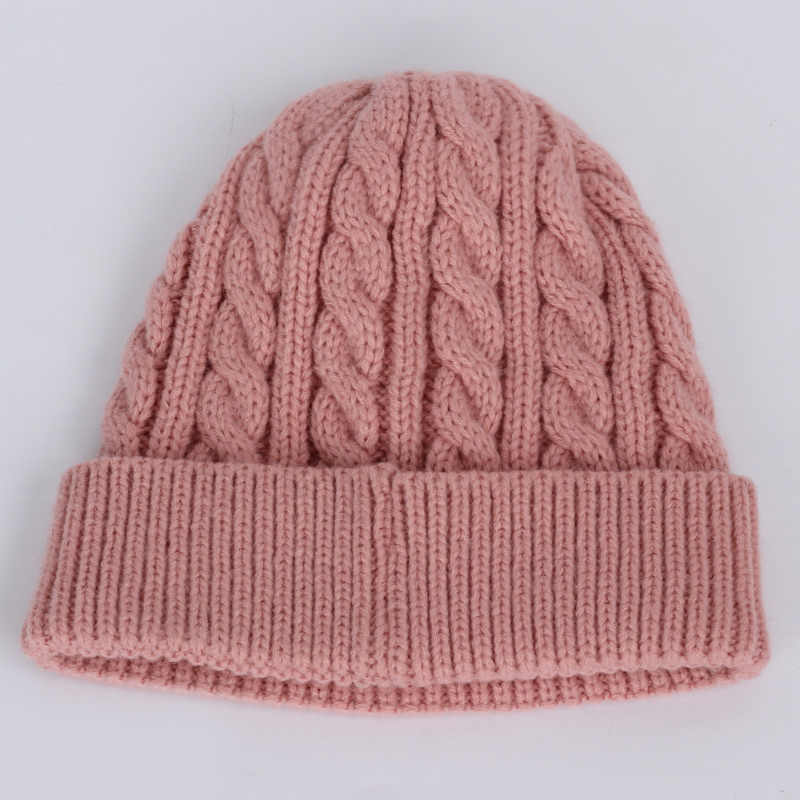 Pompom chapéu do inverno para Crianças Com Idades Entre 2-7 Knit Beanie chapéu do bebê do inverno para crianças de pele Pom Pom Chapéus para meninas e meninos