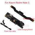 1 unids de calidad superior placa base pcb junta flex cable de carga usb charging dock conector para xiaomi redmi note 3 note3 pro