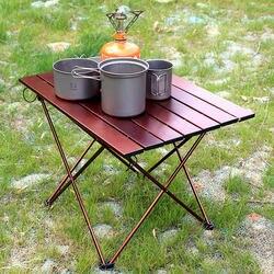 Stół składany 75*55*53 CM 40*34*29 ze stopu aluminium ze stopu aluminium w Zewnętrzne stoły od Meble na